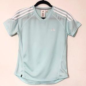 Adidas Clima365 Moisture Wicking T-Shirt Lt. Green